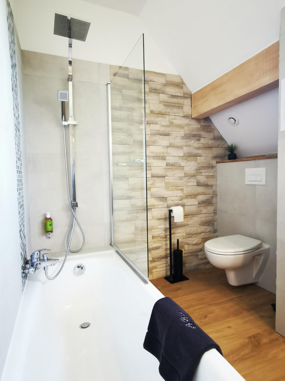 L'étang de la Tourne - Salle de bain chambre Le Granier