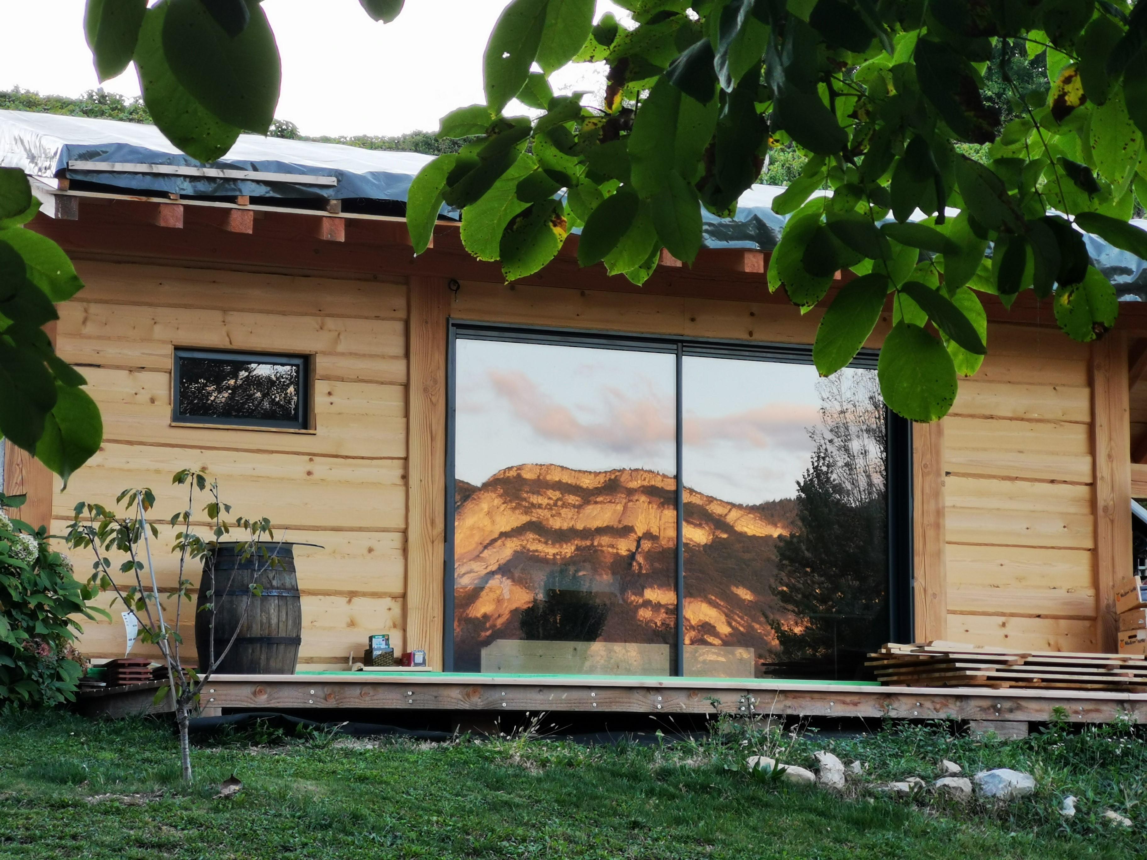 L'étang de la Tourne - Lodge nature extérieur